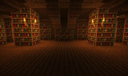 Library of Agion Minecraft Map & Project