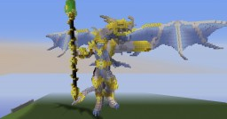 Dragon Armor Golden Minecraft Map & Project