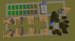 SuperCleanVillage Minecraft Map & Project