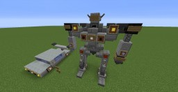 TransFormers Jazz car and robt Minecraft