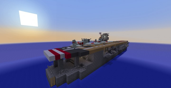 Akagi The Japanese Flagship Aircraft Carrier During World