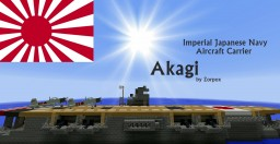 IJN Akagi - 赤城 Minecraft Map & Project
