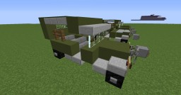 Jeep Willys MB Minecraft Map & Project