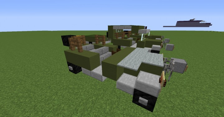 Jeep Willys Mb Minecraft Project