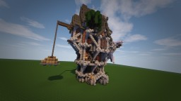 Victorian/Steampunk House Minecraft Map & Project