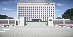 Nintendo Headquarters - Kyoto, JP Minecraft Project