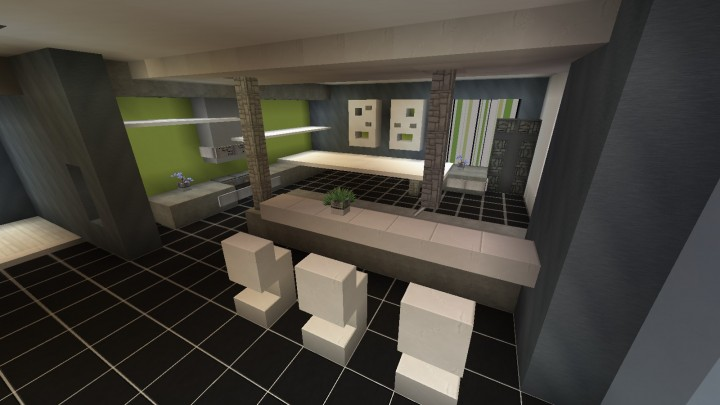 Cuisine moderne minecraft project for Cuisine moderne minecraft