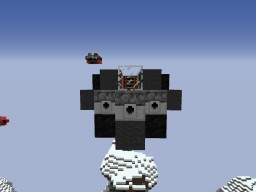 SWU Heavy Interceptor: Small Fighter Aircraft for Movecraft Minecraft Map & Project