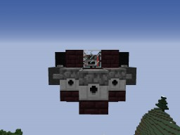 SWU Small Armored Interceptor: Small Fighter Aircraft for Movecraft Minecraft Map & Project