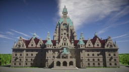 City Hall Hannover (Germany) Minecraft Map & Project
