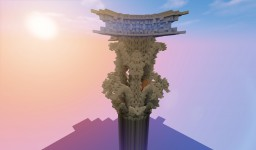 Greek Corinthian column Minecraft