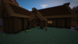 Nightgate Inn from Skyrim Minecraft Map & Project
