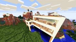 A MoDErN hOUsE Minecraft Project