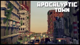 APOCALYPTIC CITY Minecraft Map & Project