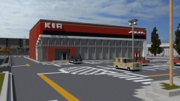 Kia Dealership/Car Mechanics | ECS | 100 Subs | POP REEL Minecraft Map & Project