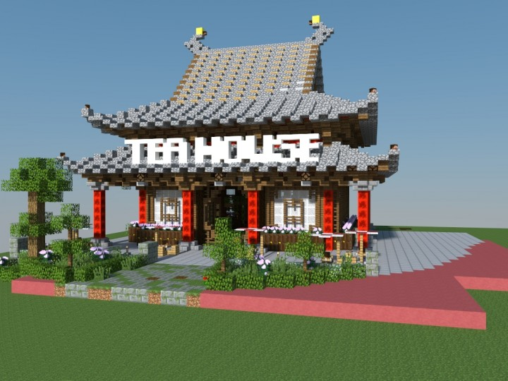 Chinese tea house Minecraft Project