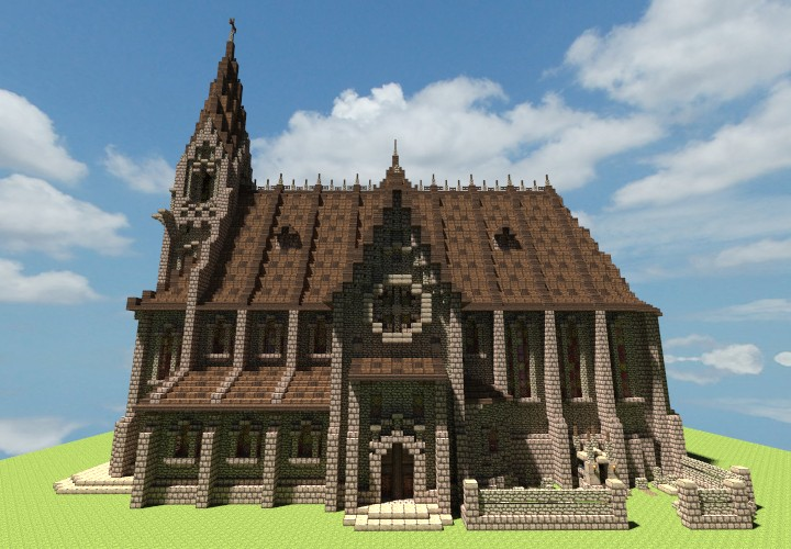 Medieval Churches ♱ Minecraft Project