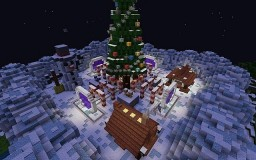 Christmas Lobby REBORN now 100% Minecraft Map & Project