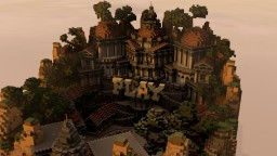 DatPixel Main Hub Minecraft Map & Project