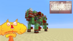 Explosive Kitty Missile Minecraft Project
