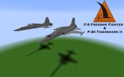 Northrop F-5E Freedom Fighter & F-20 Tigershark II (5:1)