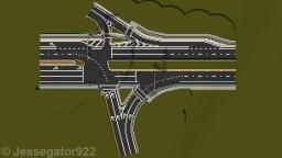 Highway Intersection in Gainesville, FL | Realistic [+Schematic] Minecraft
