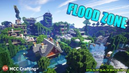 MCCC Flood Zone Water World Flooded City Town Disaster Map Download Minecraft PC/PS3/PS4/Xbox Minecraft