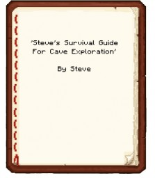 Steve's Survival Guide For Cave Exploration (Contest Entry) Minecraft Blog Post