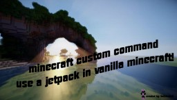 ¦¦¦1.9 Custom Command¦¦¦ Use A Jetpack Without Mods!