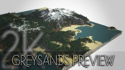 Greysands Island 2K Preview Minecraft Map & Project