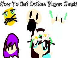How To Get Custom Player Heads 1.8+ Minecraft Blog