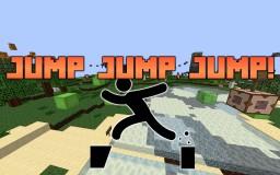 Jump, jump, jump! Minecraft Map & Project