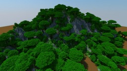 Builder's Mountains - Terraformed Mountains for All Your Building Needs Minecraft