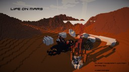 Life on Mars - The Booster Project Minecraft Map & Project