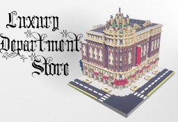 Luxury Department Store With Interior Minecraft Map & Project