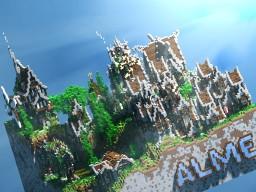 [100 x 100 Plot] Steampunk Village Minecraft Map & Project