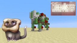 Slimeblock Robot Kitty Minecraft Project
