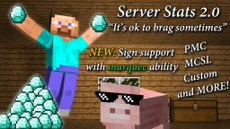 Website Server Statistics [Plugin] [1.8] Minecraft Mod