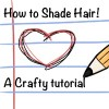 How to shade Hair! A Crafty Tutorial :3