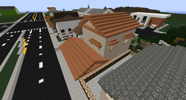 Minecraft Spanish House