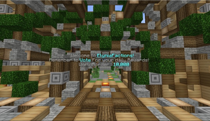 ElyniaFactions | Mcmmo | Factions | CSGO Crates | Bringing