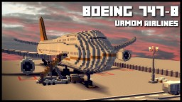 URMOM AIRLINES | BOEING 747-8 Minecraft Project