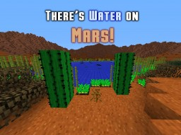 There's Liquid Water on Mars!!! Minecraft