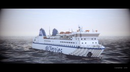 M/V Northern Adventure 1:1 Scale RoRo Ferry [+Download] Minecraft Map & Project