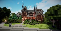 Big Tudor House Thing | WoK | Keralis Showcase Minecraft Map & Project
