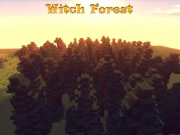 Witch Forest Minecraft Map & Project