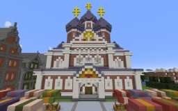 Russian City Minecraft Map & Project