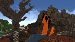 Pyrepeak Volcano Minecraft Map & Project