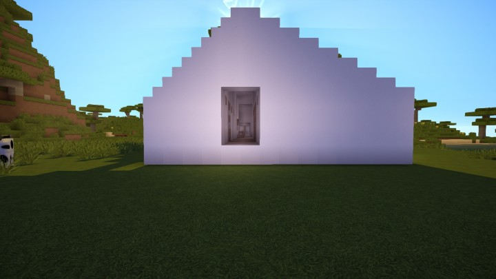 Minimalist barn house minecraft project for Minimalist house minecraft