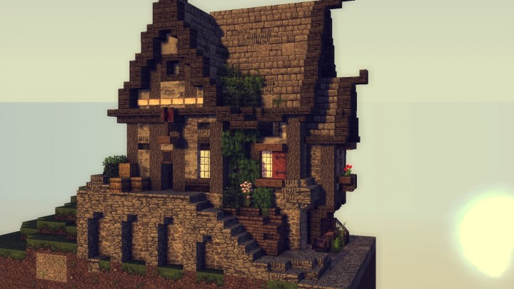 noble man\'s haus Minecraft Project